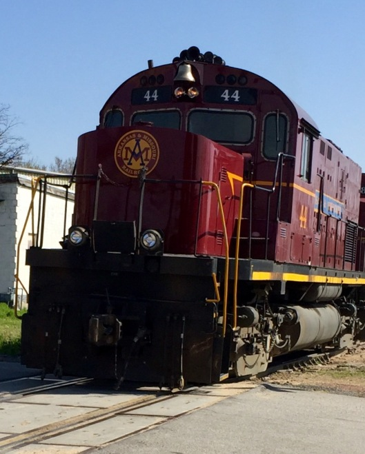 Van Buren, AR train excursion