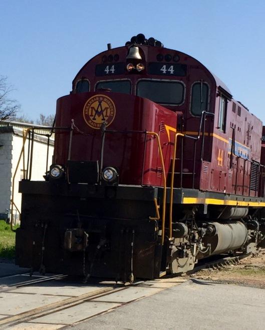Van Buren, AR train excursion