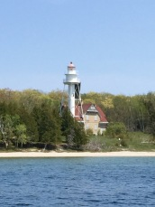Plum Island Range Lights, Lake Michigan