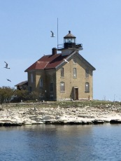 Pilot Island Lighthouse, Lake Michigan