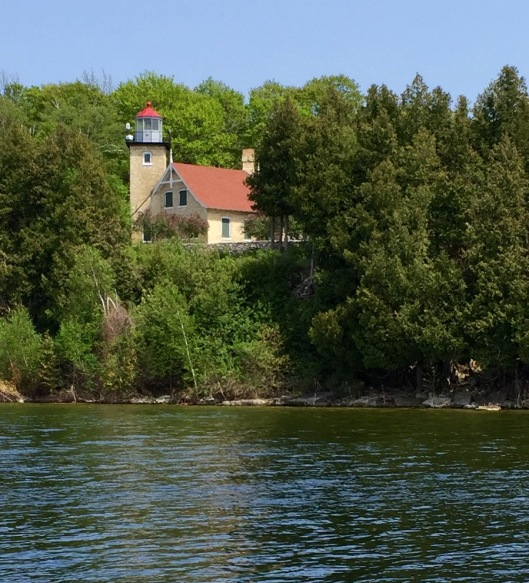 Eagle Bluff Lighthouse, Peninsula State Park, WI