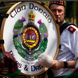 Pipe and Drum Corps, Scottie Rally