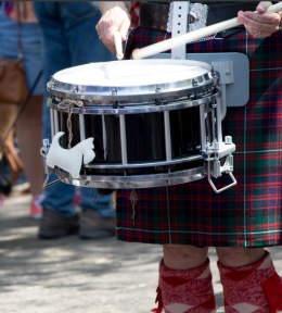 Drum and Pipe Corps, Scottie Rally