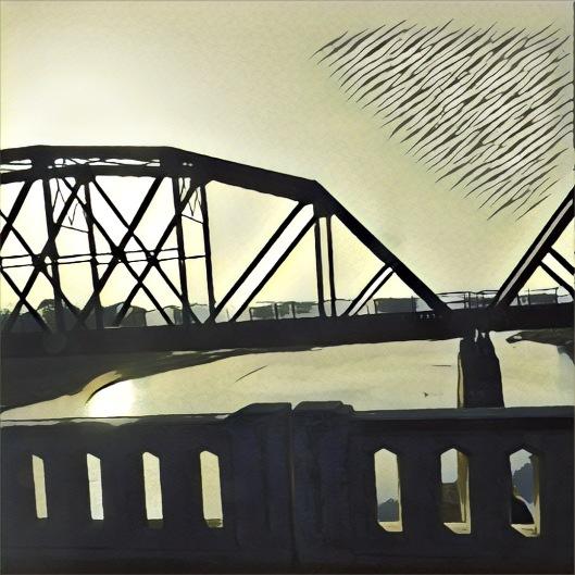 Bridge over Red River