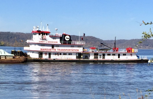 Mississippi Barge