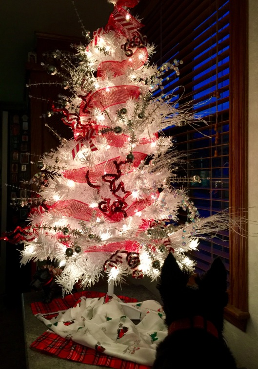 Lucy and the Charlie Brown tree