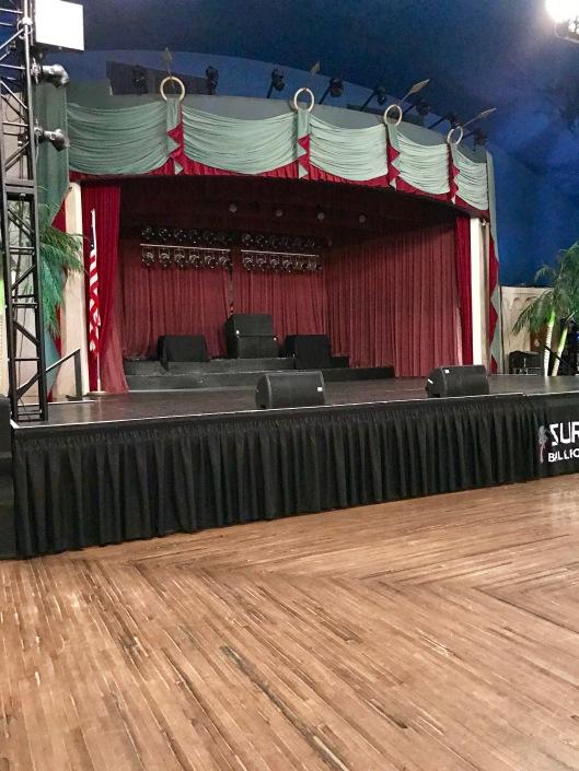 Stage at Surf Ballroom