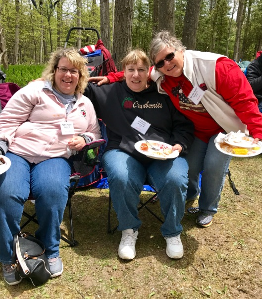 Kathy, Deb and Connie at DCSR